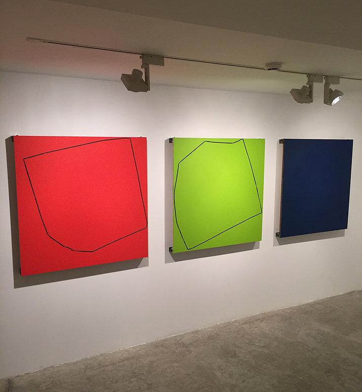 """José Maldonado,  {Ø} """"31416etc..."""" RGB, 2017"""