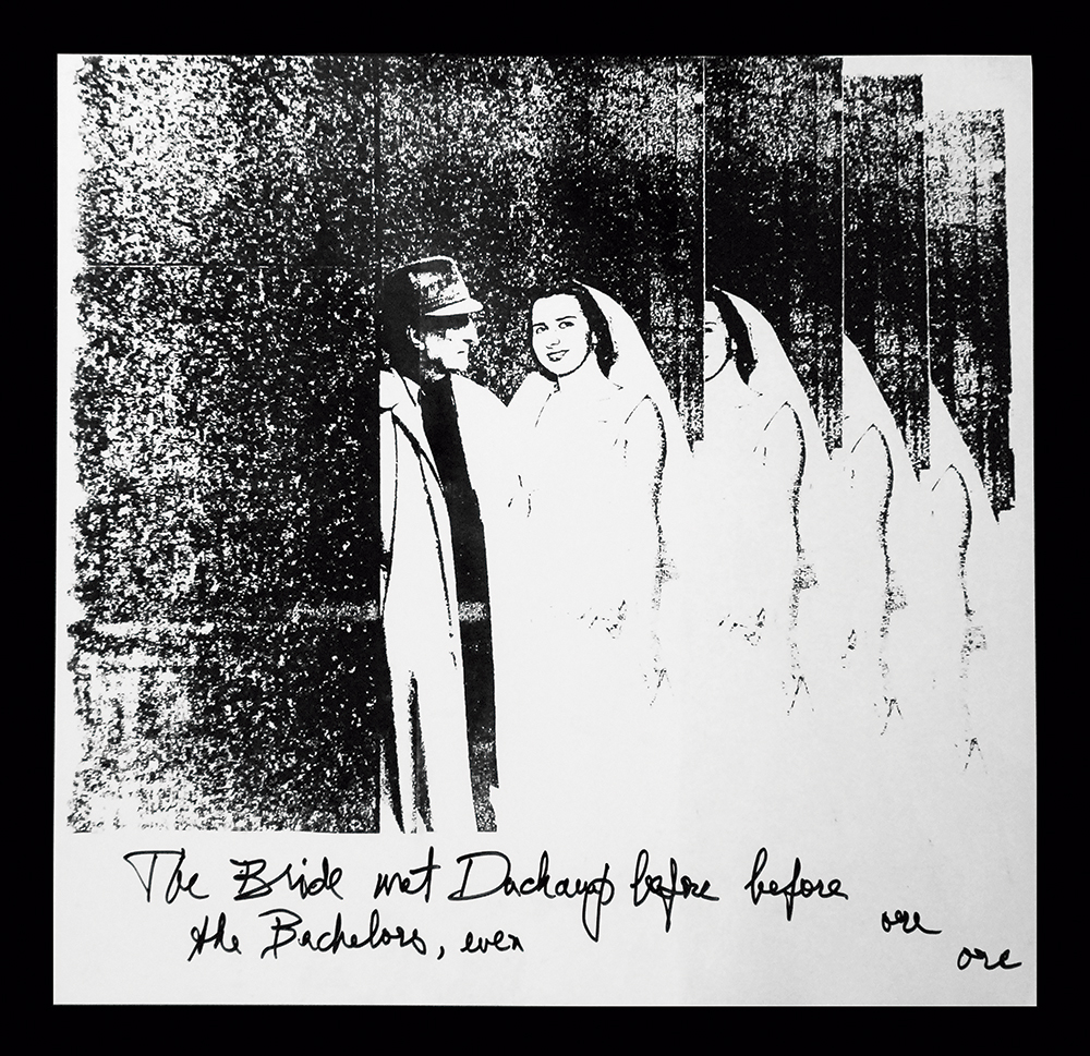 ABG_Serie Diario de um artista brasilero_The Bride met Duchamp_ 1975