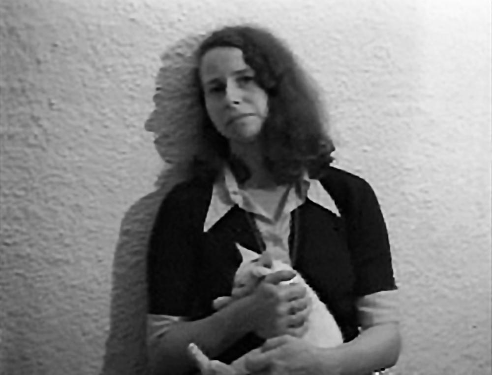 Anna Bella Geiger, Declaração em Retrato I, 1974 vídeo PB 16-min