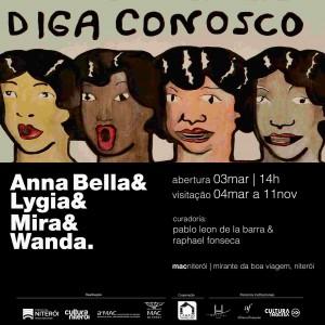 Anna Bella Geiger & Lygia & Mira & Wanda_Niterói_2018jpg
