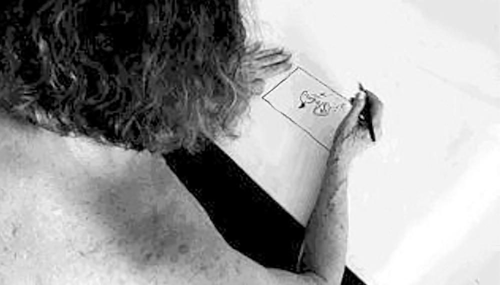 "Anna Bella Geiger, Mapas Elementares II, 1976 video 4' 14"""