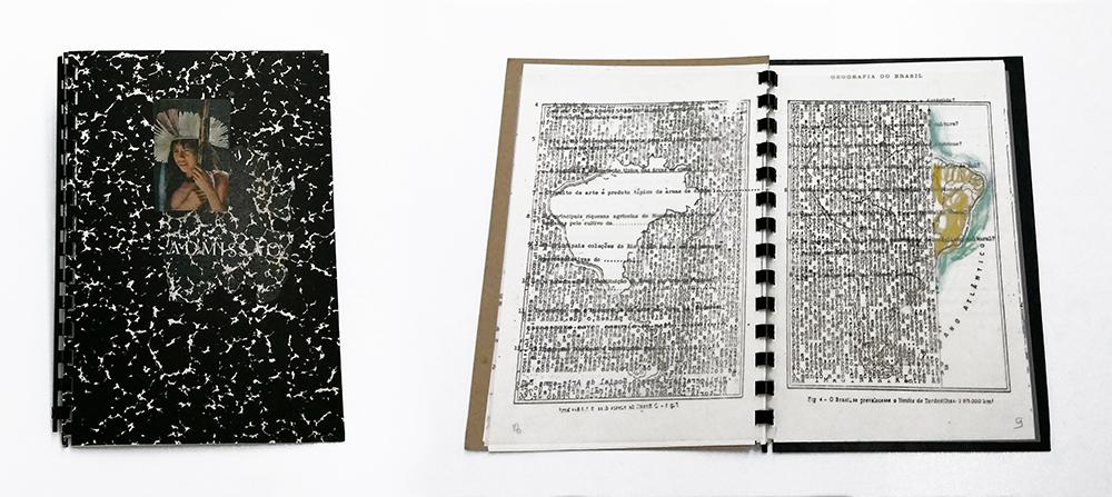 Anna Bella Geiger_ADMISSAO_Cuaderno 21,4 x 15 cm_1975