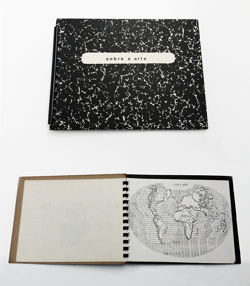 Anna Bella Geiger_1976_Cuaderno Sobre a Arte_26 x 19,6 cm