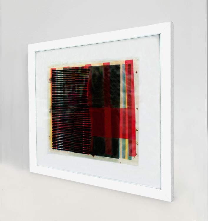 Bruno Munari_Los Alamos, 1958_2_A_Mixta sobre hojas transparentes superpuestas 24 x 24 cm