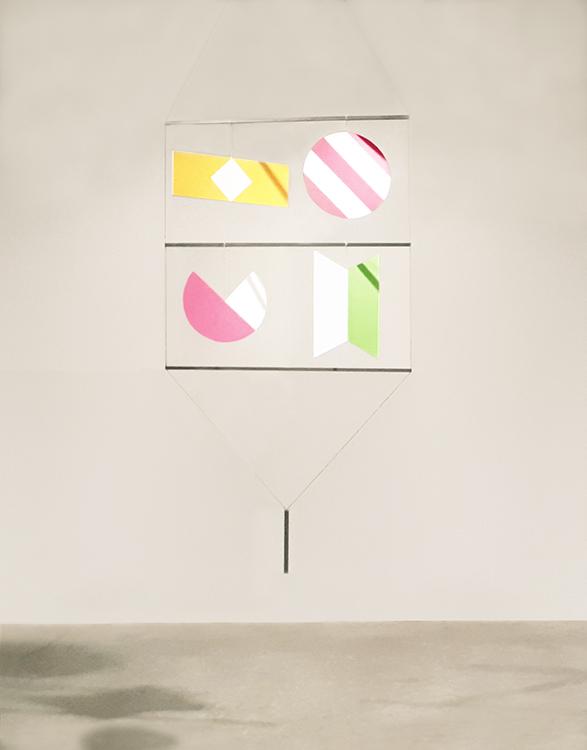 Bruno Munari_Macchina inutile_1984_195 x 78x 1,2 cm