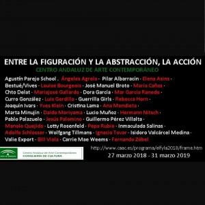 Entre la figuración y abstracción. CAAC.2018-2019 Colectiva Colección