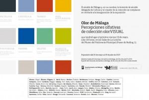 Fernando Sinaga en Olor en Málaga. Percepciones olfativas de colección olor VISUAL_Museo de Málaga_20.05 a 23.07.2017