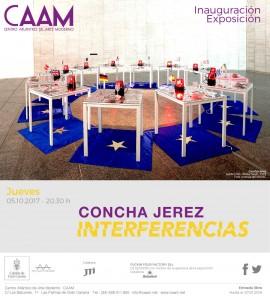 Invitación exposición Concha Jerez