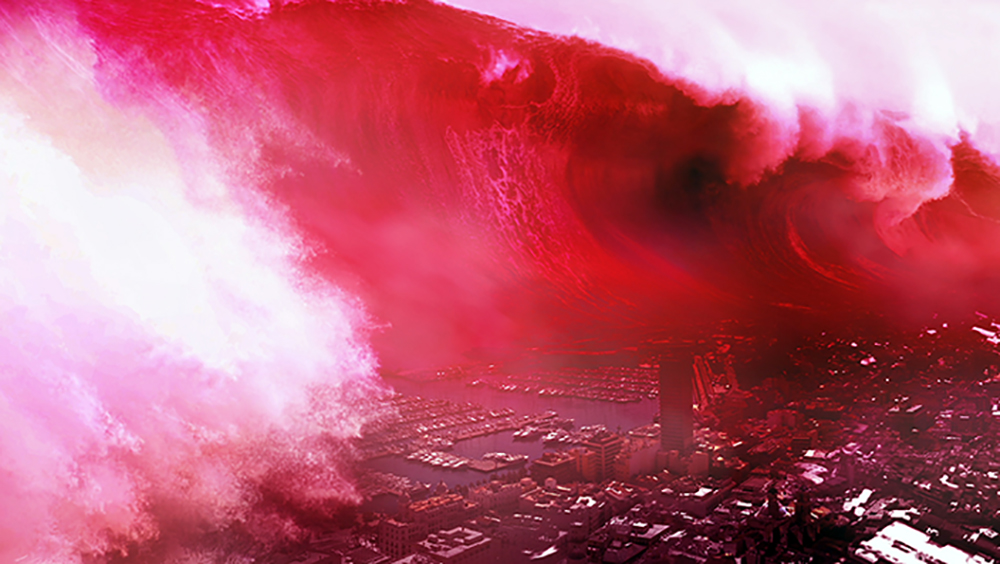 Isaac Montoya. Tsunami Rojo Stil 2
