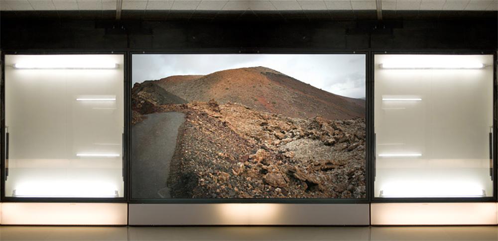 Jesús Rivera, Landscapes Factory_02, 2010-2014  Impresión de tintas pigmentadas sobre papel algodón  15 x 30 cm