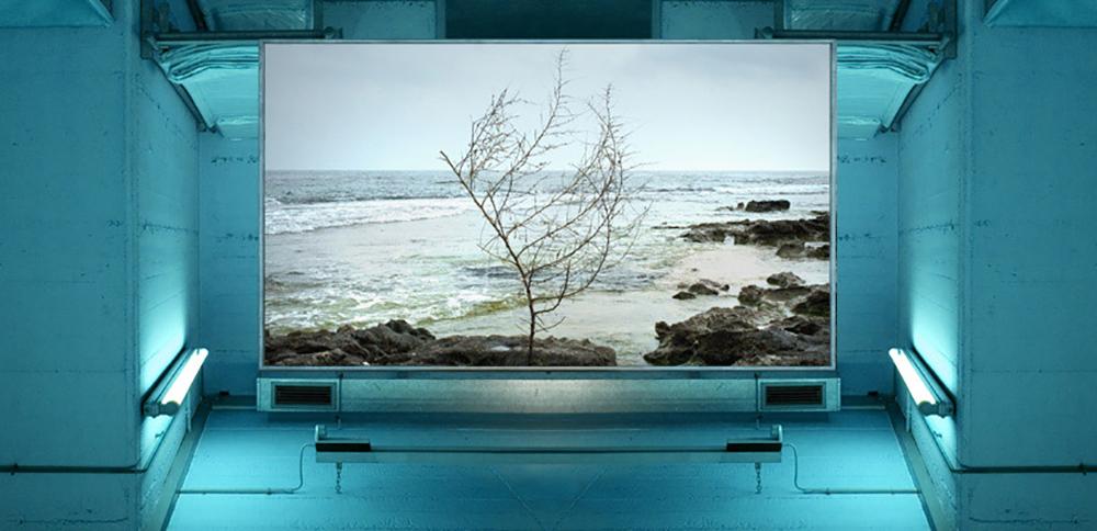 Jesús Rivera, Landscapes Factory_03, 2010-2014  Impresión de tintas pigmentadas sobre papel algodón  15 x 30 cm