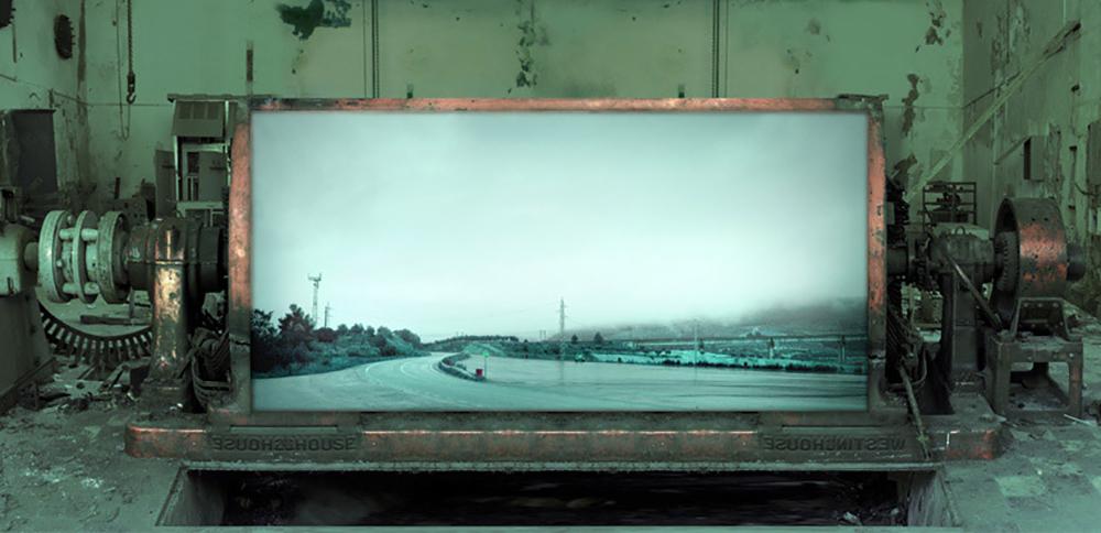 Jesús Rivera, Landscapes Factory_06, 2010-2014  Impresión de tintas pigmentadas sobre papel algodón  15 x 30 cm
