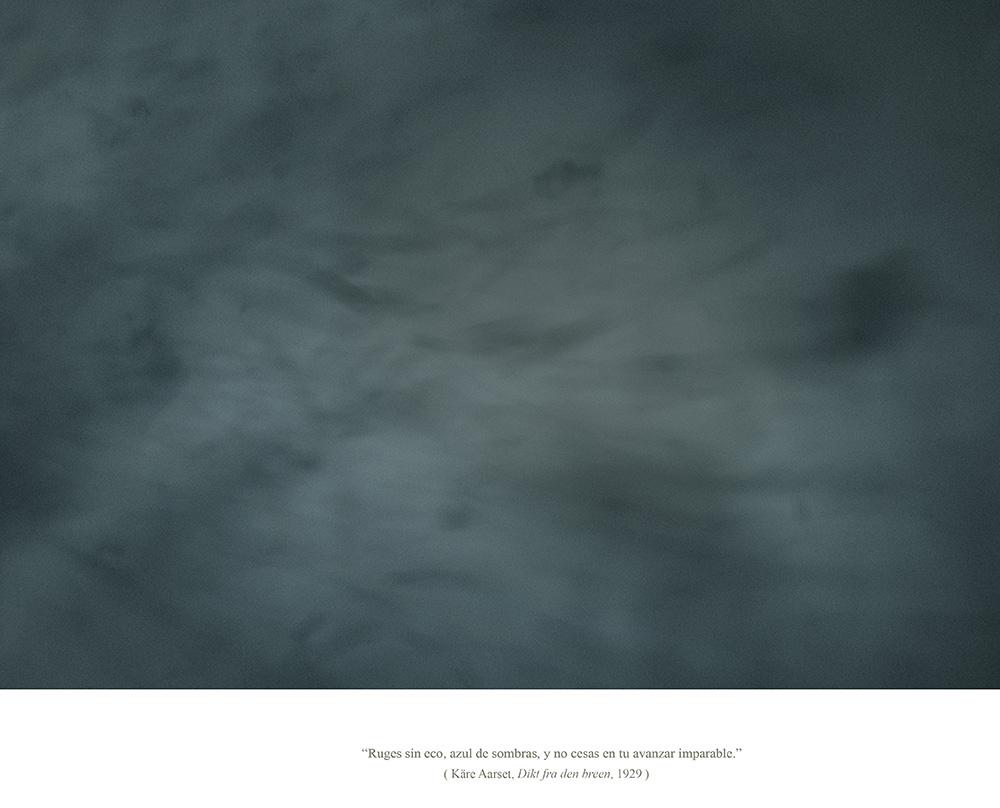 Javier Vallhonrat. EOLIONIMIA. Snowstorm #10. Marzo 2014