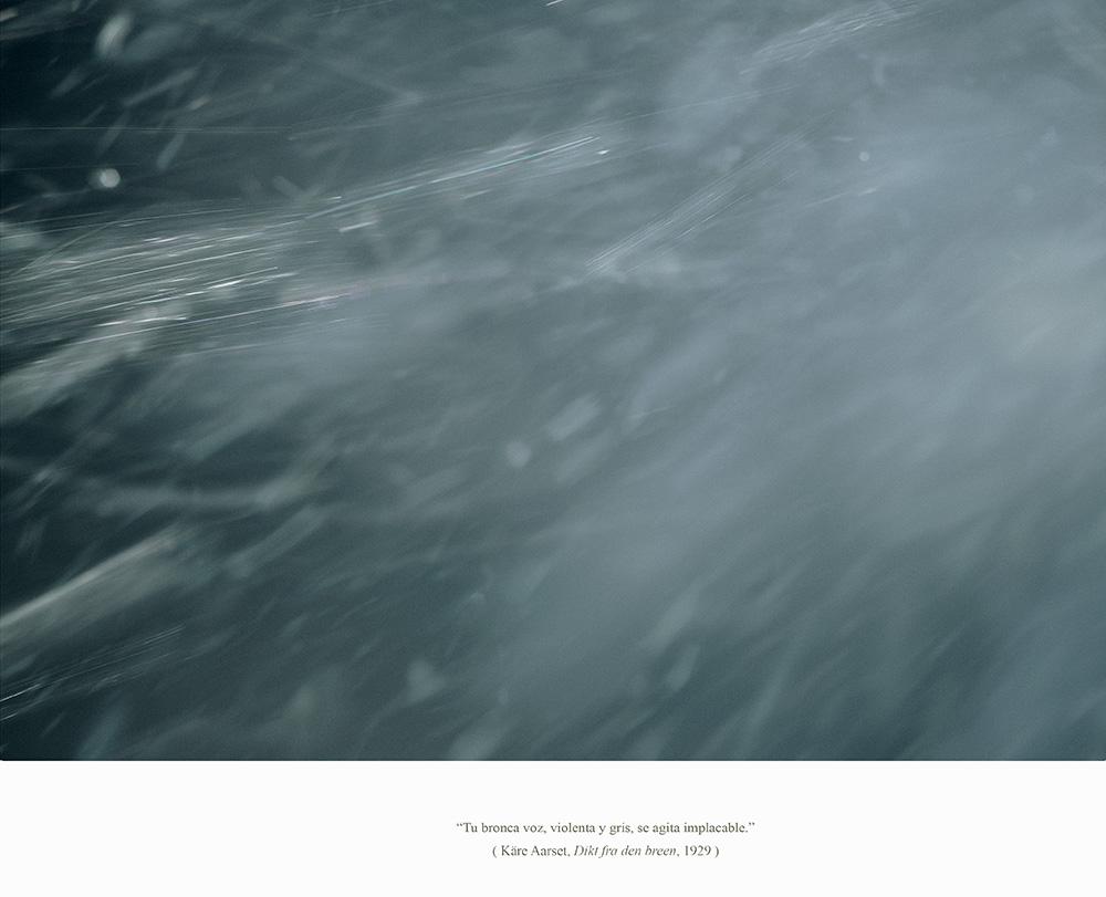 Javier Vallhonrat. EOLIONIMIA. Snowstorm #7. Enero 2014
