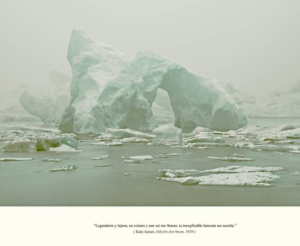 Javier Vallhonrat. EOLIONIMIA. Iceberg #13. Noviembre 2013