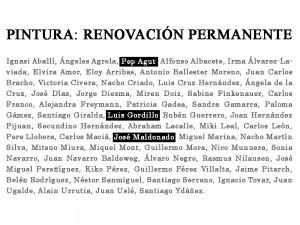 José maldonado en_Pintura_Renovación Permanente_Patio Herreriano_2021