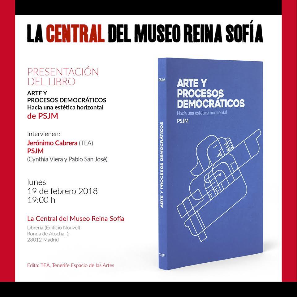 Presentación del libro d PSJM _Arte y procsos democráticos_12.02.2018