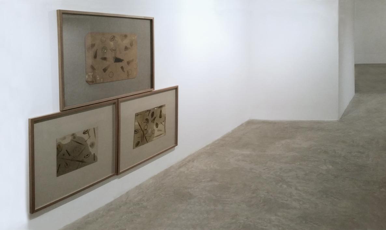 """Fernando Sinaga """" Psychografías I,II y III (brandeas)"""" 2015"""