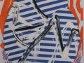Luis Gordillo_S/T, 2012_Mixta sobre cartulina_29,5 x 21 cm_Marcos de metacrilato